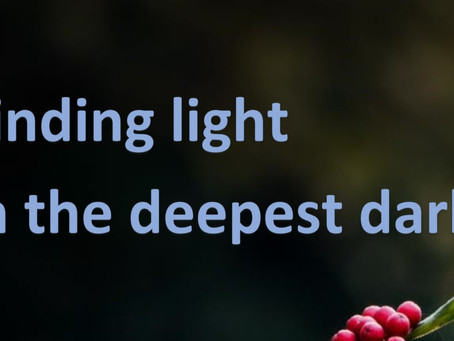 Finding light in the deepest dark