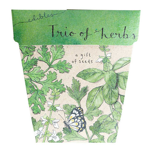 Gift of Seeds: 'Trio of Herbs'