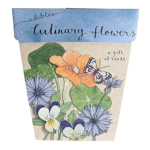Gift of Seeds: 'Culinary Flowers'