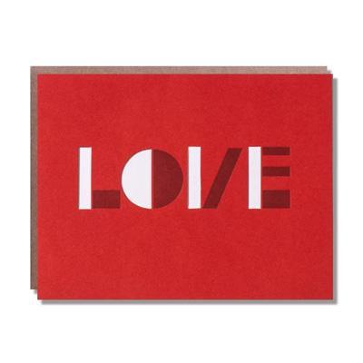 """Optical Love"" Card"