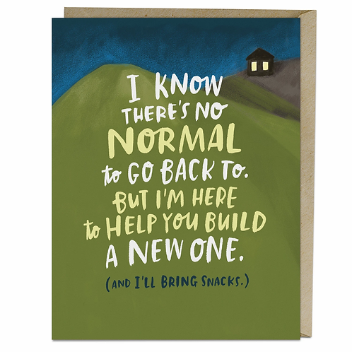 Greeting Card: New Normal