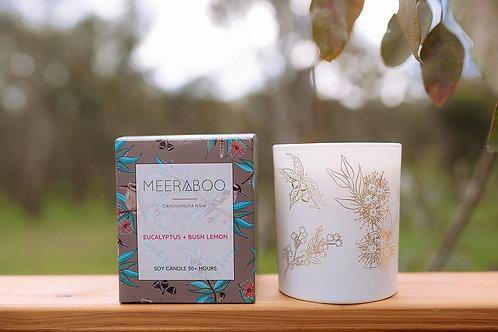 """""""Eucalyptus & Bush Lemon"""" Soy Candle by Meeraboo"""