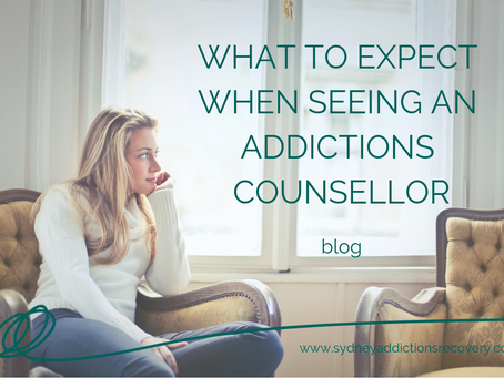 I've Never Seen an Addictions Counsellor Before...What Should I Expect?