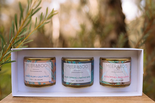 Candle Travel Set by Meeraboo