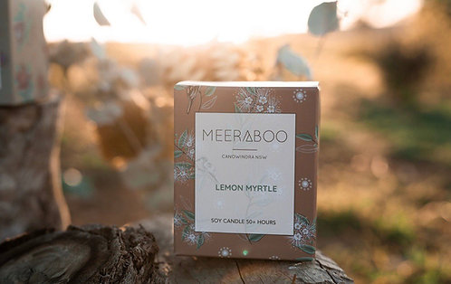 """""""Lemon Myrtle"""" Soy Candle by Meeraboo"""