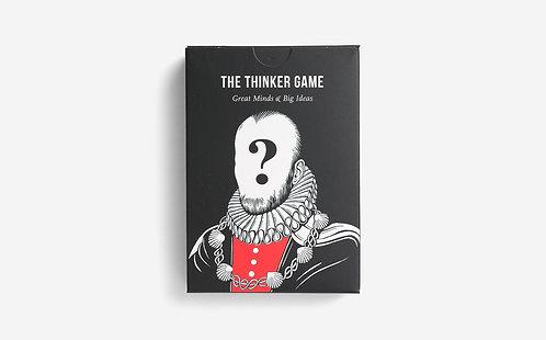 """Thinker Game"" Card Game"