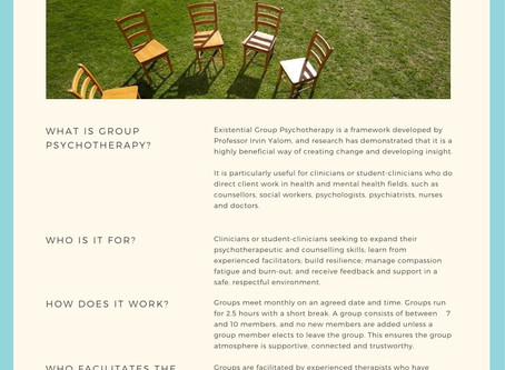 Group Psychotherapy for Mental Health Clinicians