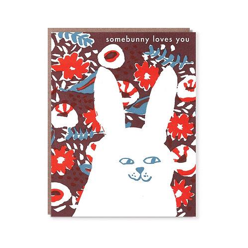 """Somebunny Loves You"" Card"