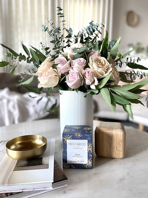 """""""Calm"""" Soy Candle by Meeraboo"""
