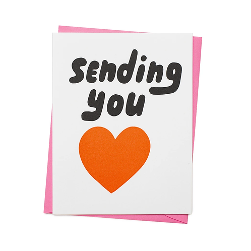 """Sending You Love"" Card"
