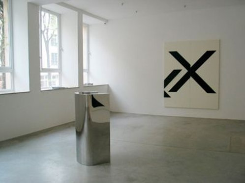 Untitled (2009) by Wade Guyton