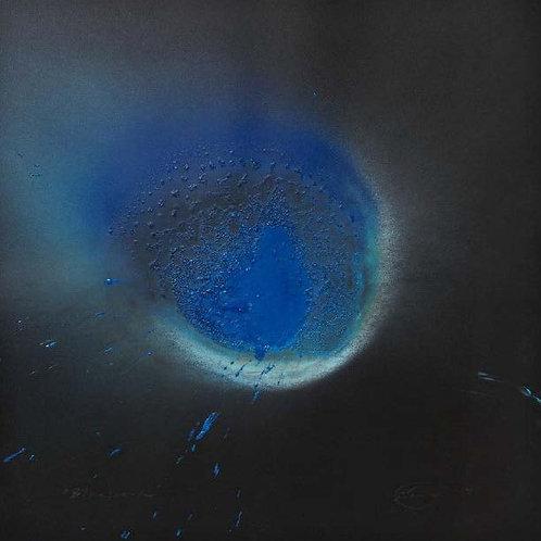 Blue Beard (2014) by Otto Piene