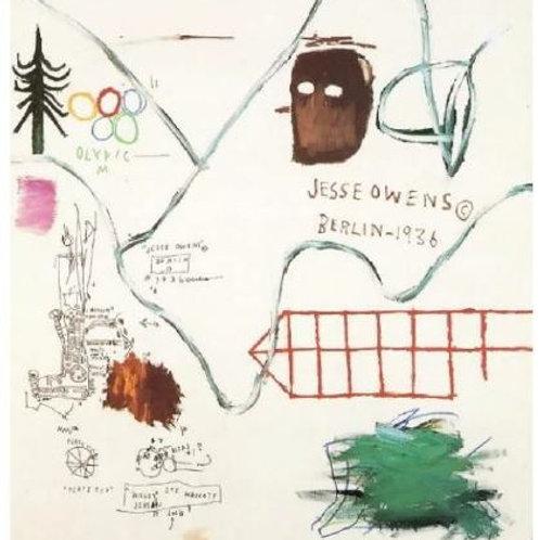 Big Snow (1984) by Jean-Michel Basquiat