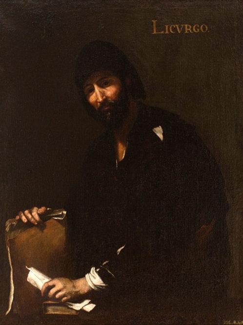 Licurgo (circa 1631) by Jusepe de Ribera ('Lo Spagnoletto')