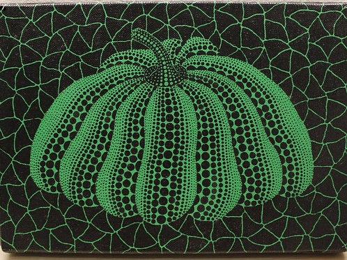 Green Pumpkin (1993) by Yayoi Kusama