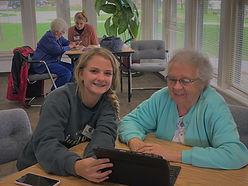 Bailey and Judy seniors connect.JPG