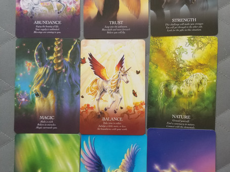 Oracle of the Unicorns~Oracle Message