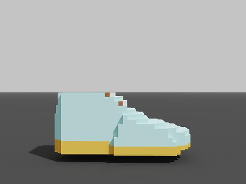 Chukka Boot - Pastel Blue