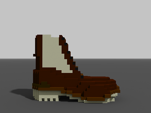 Zip-Up Boot - Tan