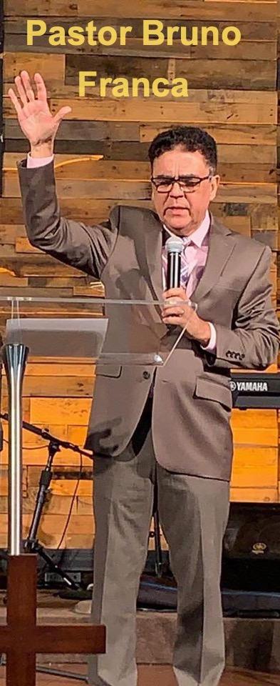 Pastor Bruno Franca of Fonte De Vida Church in Orlando