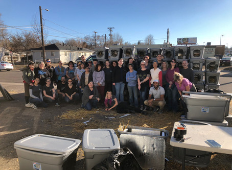 Annual Winter Shelter Building Event