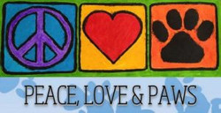 Peace Love and Paws