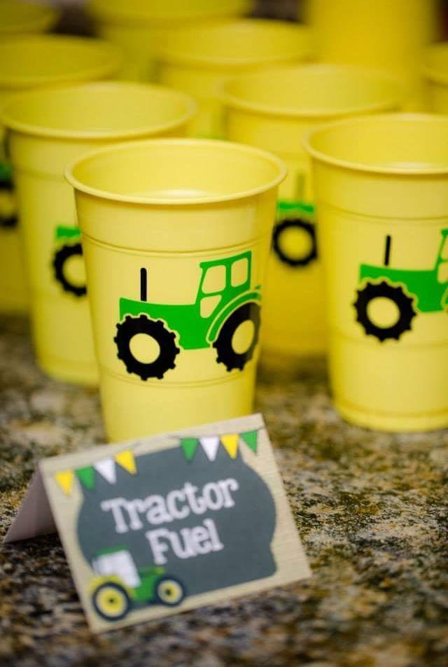 Tractor Fuel Cups