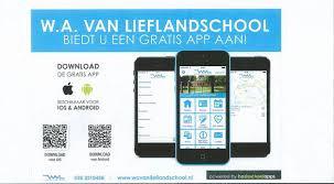Downloaden van de schoolapp