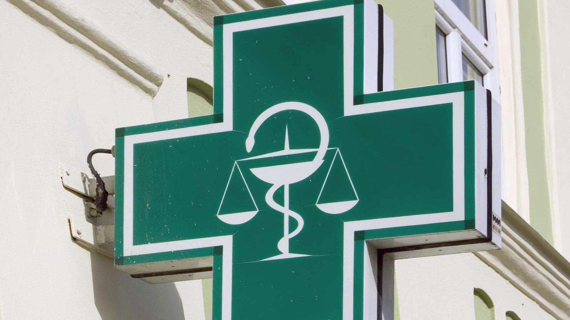 signe de la pharmacie verte