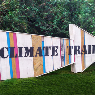 We are very proud that The Climate Trail at Watermead Country Park won the 'Best Environmental Contribution by a Major Project' at the Greener Leicester Awards in 2011