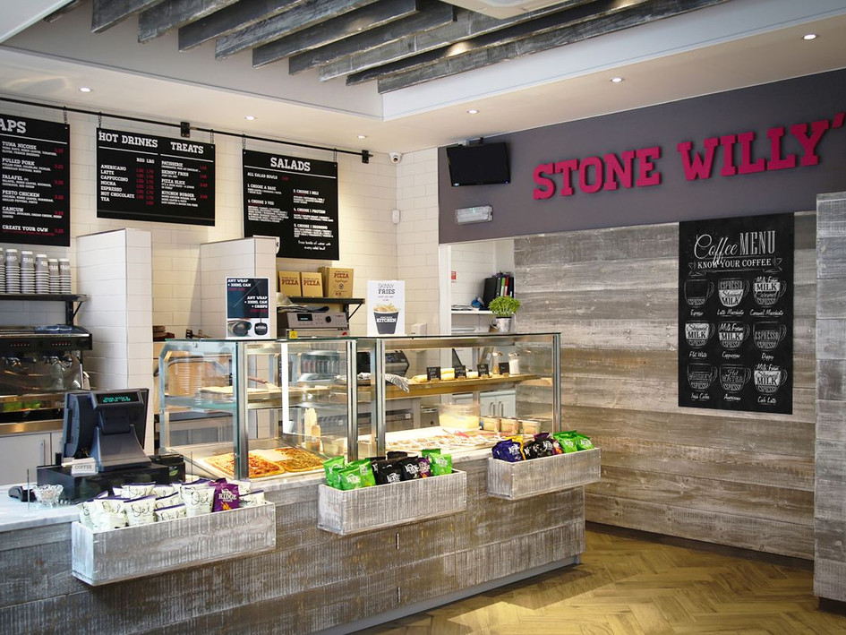 This design ensured that customers can grab-and-go with ease at this West Midlands takeaway