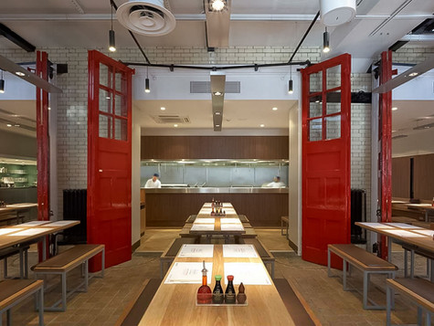 Grade II Listed Fire Station transformed to create a unique dining environment