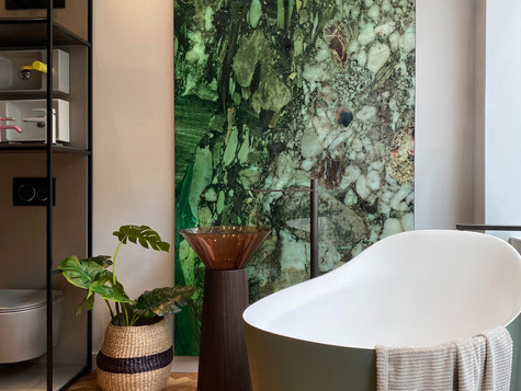 This high-end London showroom showcases excellence in design, with both Creed's interior design and its products