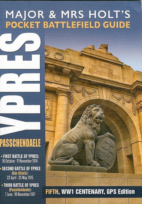 Lion and Menin Gate cover Holts Pocket Ypres Guide book