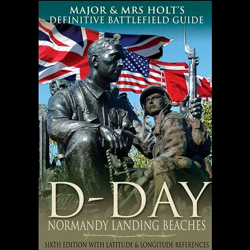 Cover Holts D Day Normandy Guide Book