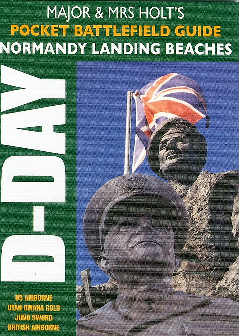 Best selling Pocket guide book D Day Landing Beaches