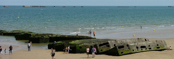 Mulberry Harbour Remains Arromanches.jpg
