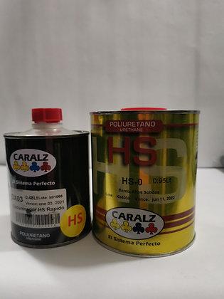 BarnizPoliuretano altos solidos caralz Cuarto con catalizador