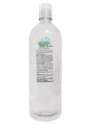 Gel antibacterial  sanitizante 1000 ml