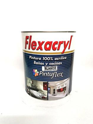 Pintura para baños y cocina Flexacryl Galon