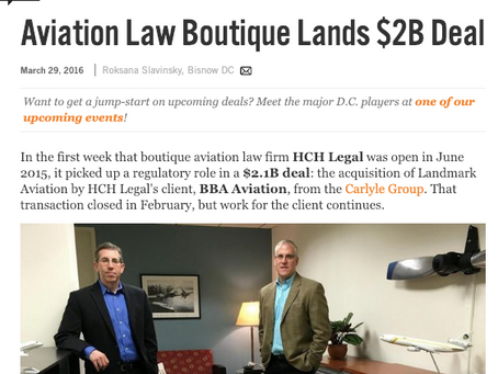 HCH Legal Featured in Bisnow/Legal