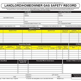 landlord gas safety certificate preston plumber gas smartgas247.com