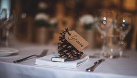Décoration serviettes mariage