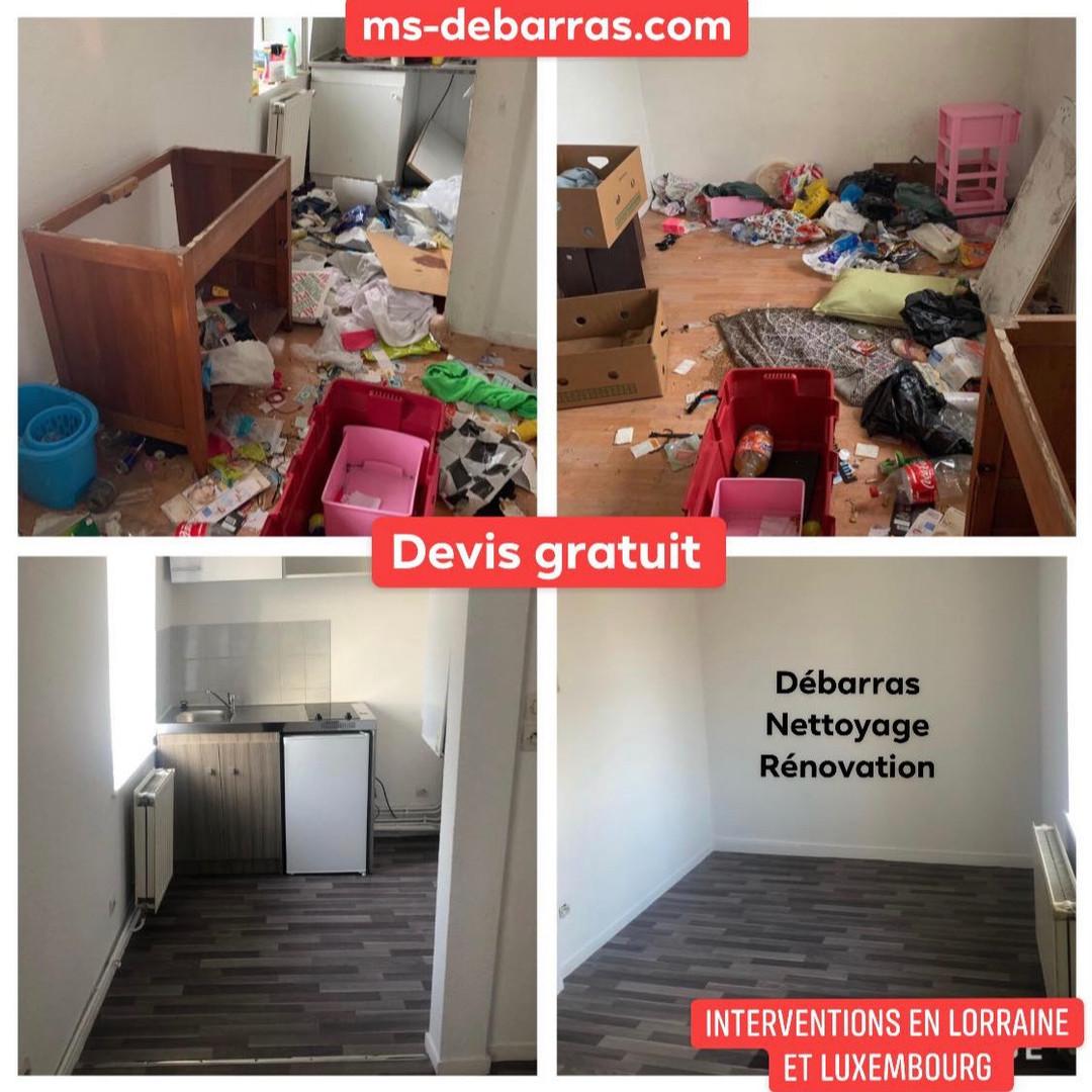 Remise en etat appartement