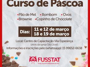 FUSSTAT ABRE INSCRIÇÕES PARA CURSO DE PÁSCOA