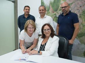 Assinatura de termos de parcerias com 11 entidades do terceiro setor