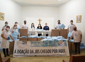 JBS Realiza doação para santa casa de Tatuí