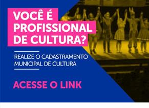 Cadastramento Municipal de Cultura