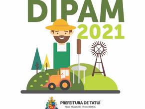 DIPAM PODE SER ENTREGUE PELOS PRODUTORES RURAIS DE TATUÍ ATÉ 31 DE MARÇO DE 2021
