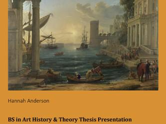Virtual Art History and Theory Thesis Presentation